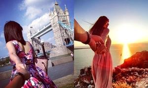 3 bộ ảnh 'Follow me' phiên bản Việt đẹp mê mẩn