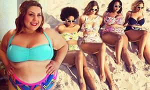 Trào lưu các nàng béo rần rần tạo dáng với bikini