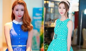 Váy xòe bồng xinh lung linh như công chúa của Quỳnh Anh Shyn