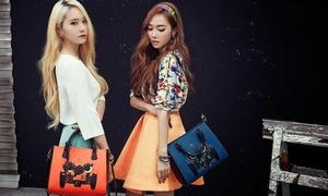 Jung Sister, CL sắc lạnh trong quảng cáo túi