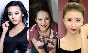 Hot girls Việt kém xinh với style già trước tuổi