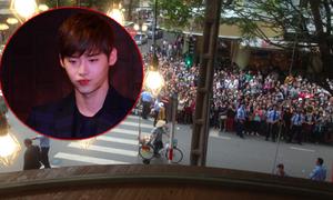 Những khoảnh khắc 'nghẹt thở' của Lee Jong Suk và fans