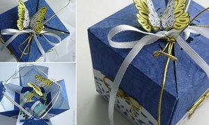 Khéo tay gập hộp quà Origami xinh xắn
