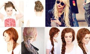 6 kiểu giấu tóc bết hoàn hảo