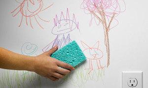 Tips: Tẩy mọi vết bẩn trên tường nhà