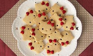Bánh quy hình Hello Kitty cực dễ thương