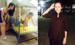 Sao Việt 6/9: Thái Hòa bị nhốt trong cũi, Bà Tưng diện áo nâu sòng