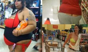 Thảm họa thời trang ở các siêu thị