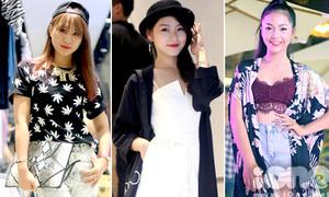 Style dự tiệc ngày chớm thu của con gái Hà thành