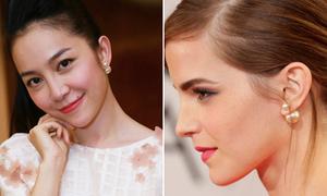 Linh Nga đụng khuyên tai chục triệu với Emma Watson