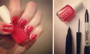 Vô vàn mẫu nail đơn giản dễ làm