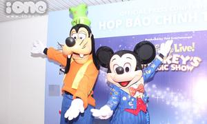 Chuột Mickey và chó Goofy đến Việt Nam tổ chức show