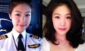 Nhan sắc xinh đẹp của 3 nữ phi công Việt Nam
