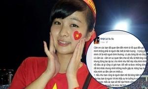Thiếu nữ bật khóc tại chung kết U19 bị hack Facebook