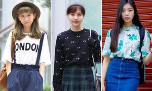 Style đi học đáng ngắm của teen xinh Hàn Quốc