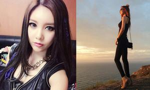 Sao Hàn 17/9: Lee Da Hae thả dáng, Qri xinh như búp bê