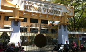 Bị tố lạm thu, lãnh đạo trường Hùng Vương nói học sinh bịa đặt