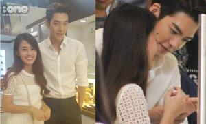 Kim Woo Bin đưa Ngọc Thảo đi mua nhẫn