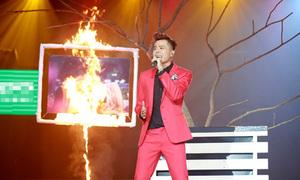 Trịnh Thăng Bình đốt ảnh kỷ niệm với Tâm Tít