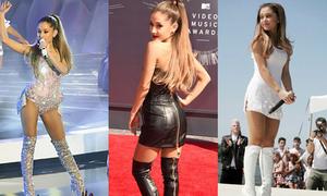 Ariana Grande - sao mi nhon 'nghiện' bốt cao cổ