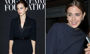 Emma Watson tụt hạng phong cách vì mặc già như gái 30