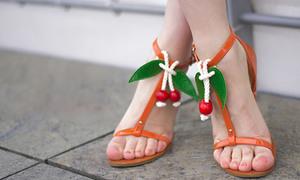 Tậu sandal cherry nhí nhảnh đáng yêu