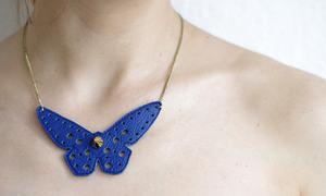 Yểu điệu vòng cổ hình con bướm