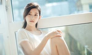 'Cô bé trà sữa' đẹp tinh khôi trong bộ ảnh mới nhất