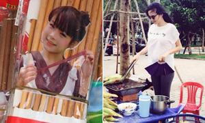 Sao Việt 25/9: Huyền Baby bị in hình lên đũa, Diễm Hương bụng bầu bán ngô