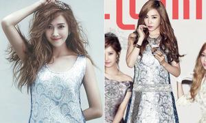 Jessica, Tiffany đọ xinh tươi với một kiểu đồ