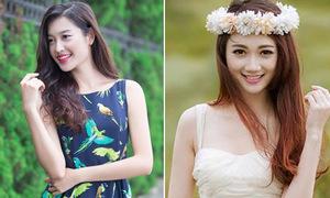 4 ứng viên xinh như hoa của Hoa hậu Việt Nam 2014