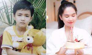 Sao Việt 29/9: Bình An đẹp trai từ bé, Ngọc Trinh diện áo tắm thổi nến