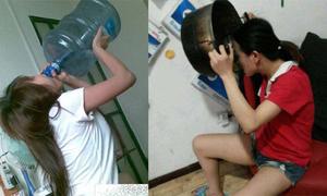 Những thiếu nữ 'ăn thùng uống vại'