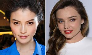 9 người mẫu quốc tế có gương mặt đẹp kiểu Hoa hậu