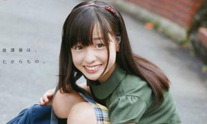 Vẻ đẹp trong veo của 'thiên thần đồng phục' Nhật Bản