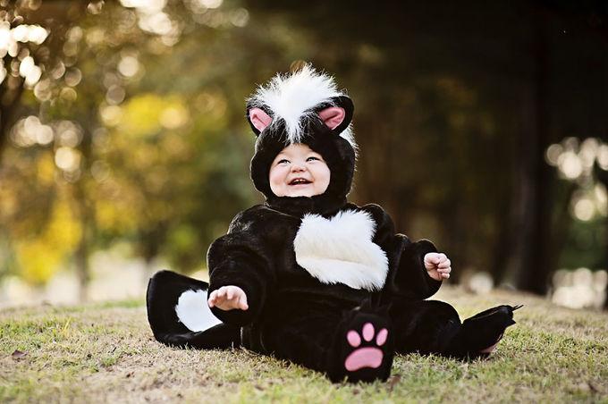 Ngắm các nhóc tỳ hóa trang Halloween siêu tài