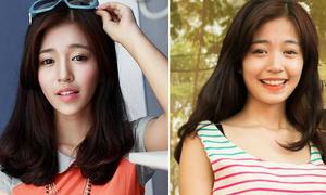 Loạt ảnh bóp cằm khác lạ của sao Việt, hot girl