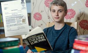Cậu bạn 14 tuổi có chỉ số IQ cao hơn Albert Einstein