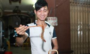 9x mồ côi mở quán ăn côn trùng kiếm bạc triệu mỗi ngày