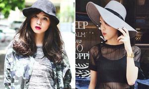 3 kiểu mũ tôn mặt hot nhất mùa thu đông