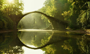 Đẹp ngỡ ngàng 20 cây cầu cổ kính dẫn đến thế giới thần tiên