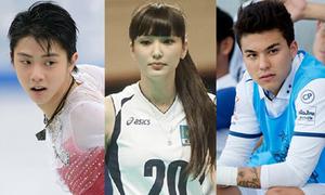 10 vận động viên đẹp trai xinh gái vạn người mê