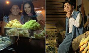 Sao Việt 9/10: Lý Nhã Kỳ ăn xôi vỉa hè, Phở bổ luống hệt Đan Trường