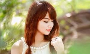 Ngọc Anh - cô nàng xinh xắn thường xuyên lên sóng truyền hình
