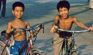 Ngắm Hà Nội xưa qua khoảnh khắc tuổi thơ tuyệt đẹp