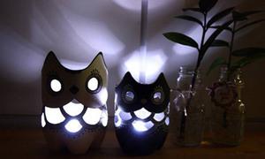 Đèn ngủ cú mèo dễ thương từ chai nhựa