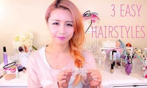 Video: 3 kiểu tóc tết xinh yêu đi học cho teen girl 'mèo lười'