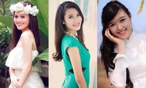4 thiếu nữ xinh xắn là bản sao của hoa hậu, MC nổi tiếng