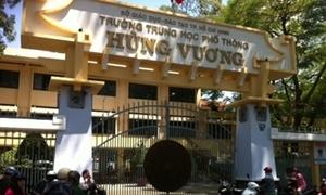 Bộ GD&ĐT thanh tra trường Hùng Vương về dấu hiệu lạm thu