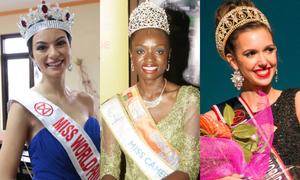 Những thí sinh mặt đơ, già tại Miss World 2014